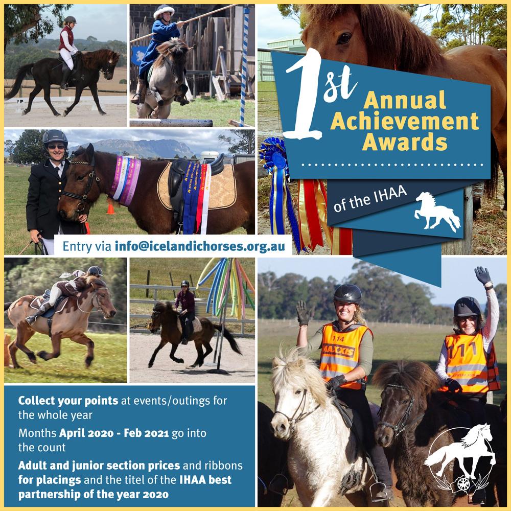 1st Annual Achievement Awards!